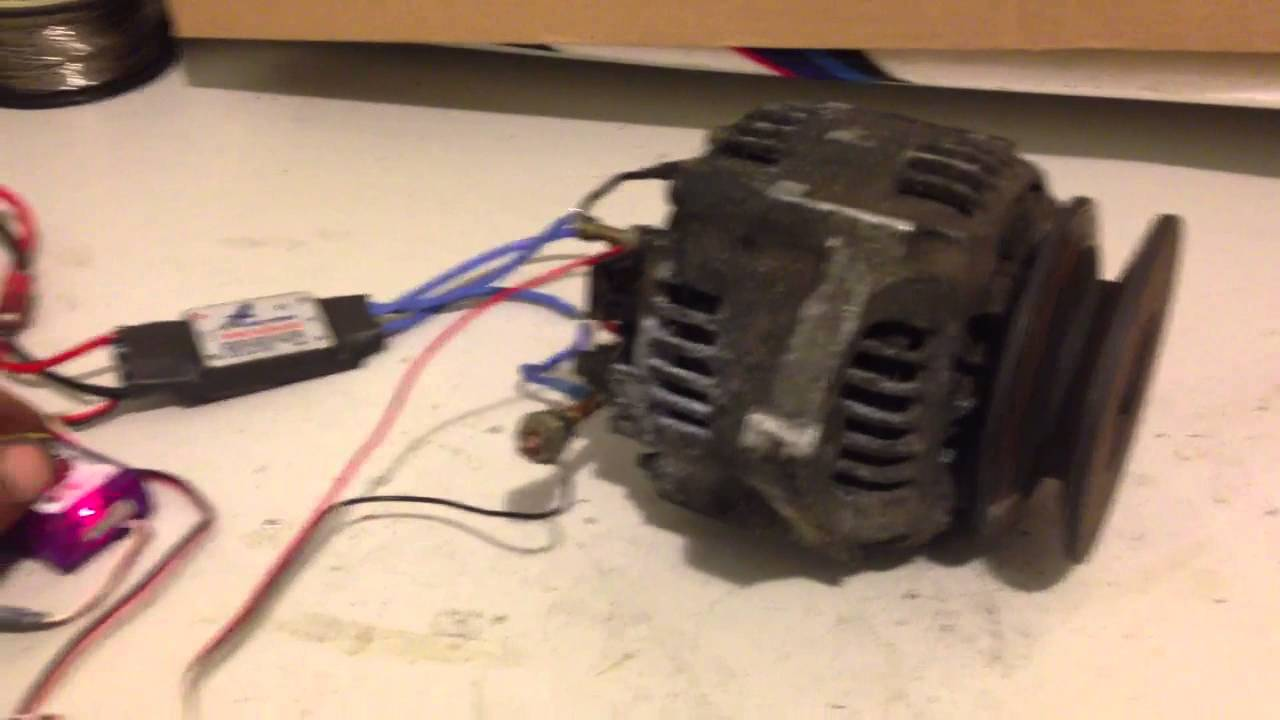 How To Use An Alternator As A Motor