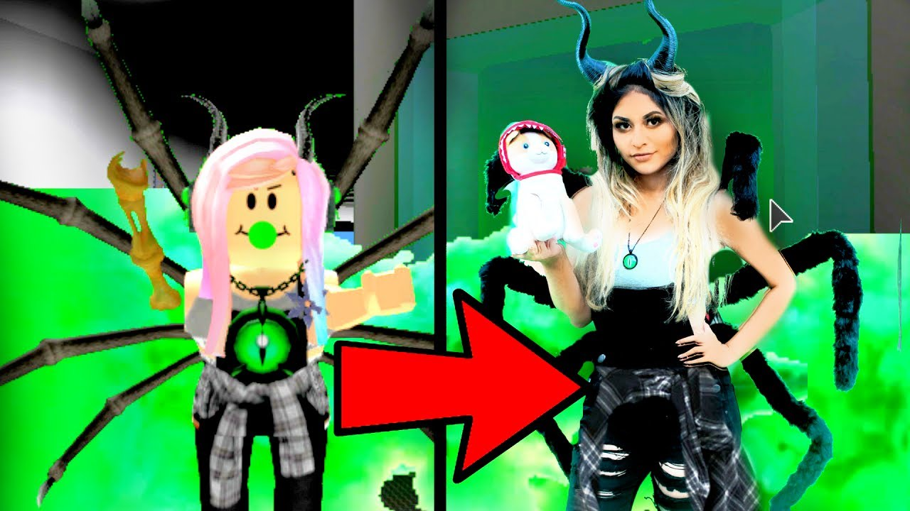 I Became My Roblox Character In Real Life Real Life Roblox