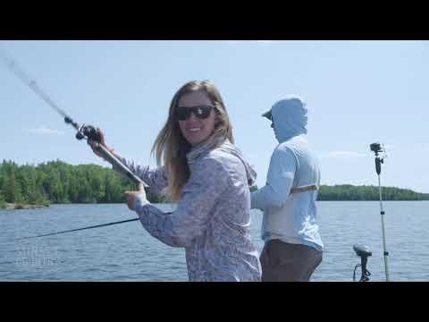 Muskie Fishing with Jessie Baker on Pipestone Lake, Ontario