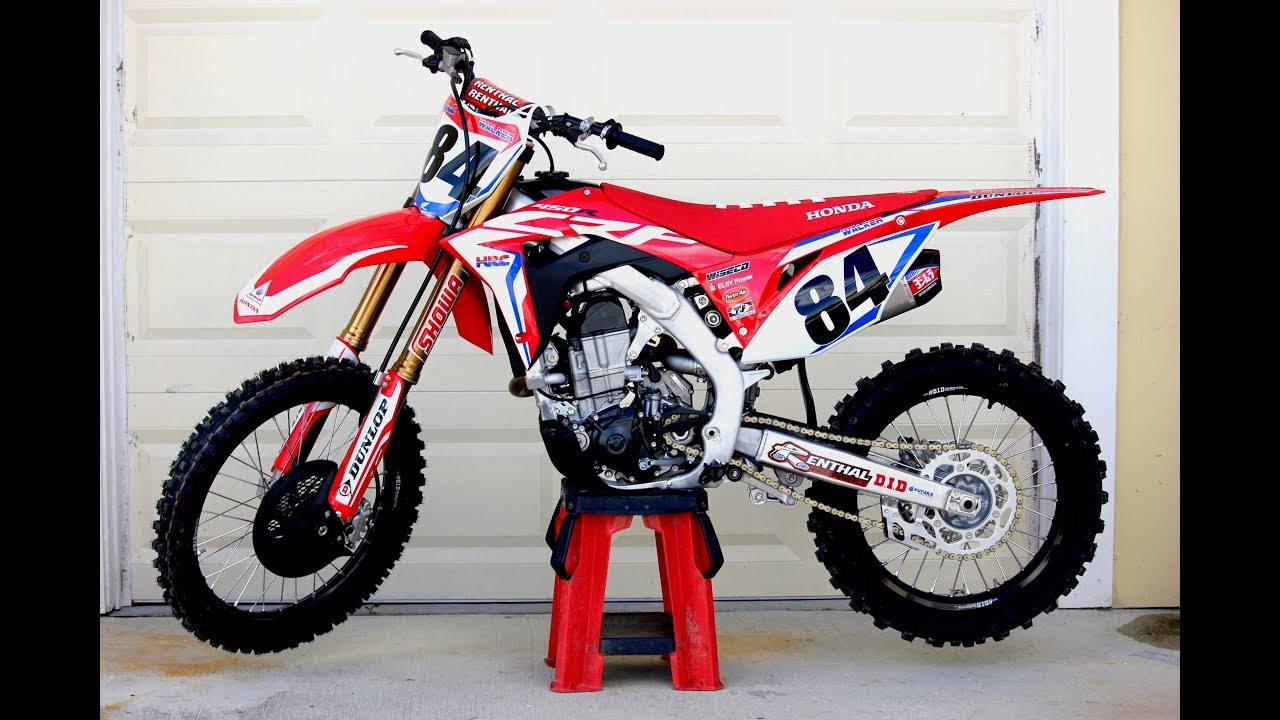 2019 Honda Crf450r Works Edition First Ride Impressions Youtube