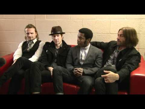 Vintage Trouble at 53 Degrees, Preston - PSTV Interview