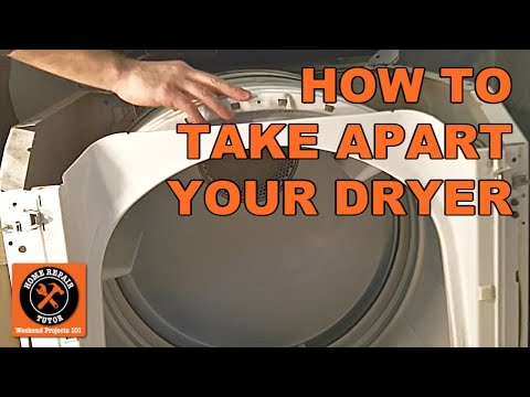 how to take apart a maytag electric dryer by home repair tutor Maytag Stove Element Wiring-Diagram