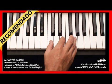 Aula de Piano - Aula 1 iniciante - teclado - Aula de como Tocar PASSO  à PASSO piano  iniciantes 🔥