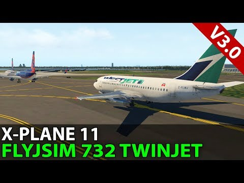 The Toronto Ground Stop, FlyJSim 732 TwinJet, VATSIM ✈️ 2018-01-05