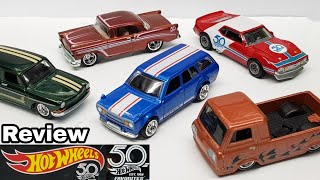 Some Cars DON'T Belong In This Set- Hot Wheels 50th Favourites Review