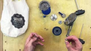 Inside a SEiGLER Reel: Large Game Narrow Tear Down