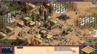 Aoe2 HD: 4v4 Deathmatch (Koreans, Death Ball) (10/7/13)
