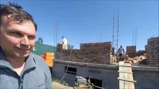 МПС Алматы. Дом в 2 этажа из красного кирпича с цоколем. Привет от Бегимкула в Таджикистан.