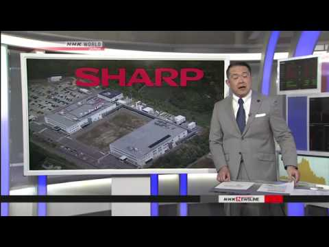 Sharp considering closing electronics parts plant