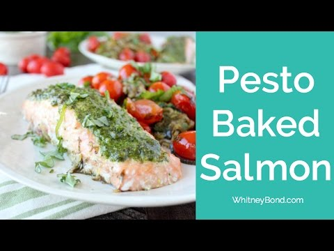 PESTO BAKED SALMON 29 MINUTE MEALS