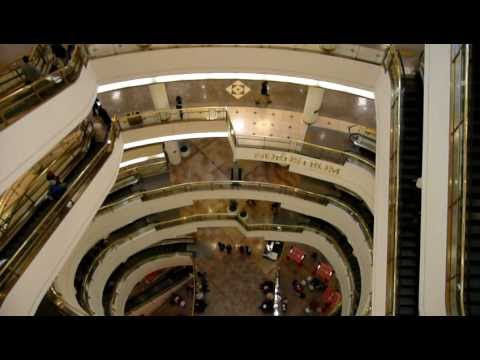 Huge Shopping Mall: Westfield Centre, San Francisco CA