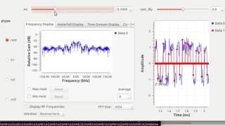 GNU Radio: Pulse Amplitude Modulation with Noise (Impulse Sampling)