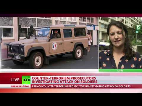 "Car driven into soldiers ""deliberate terrorist attack"" - Paris prosecutors"