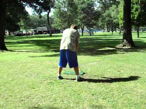 Marshmallow golf fail