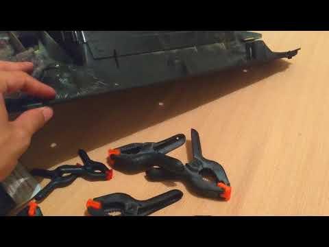 Consertando puxador do Porta luvas Bora e Golf MK4 PARTE 2