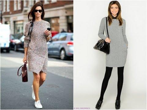 Вязаные Платья и Кардиганы для Женщин - 2019 / Knitted Dresses And Cardigans For Women