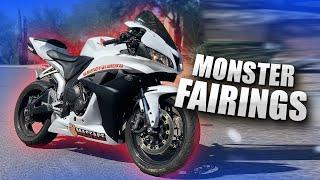 Monster Fairings Review | Honda CBR600RR