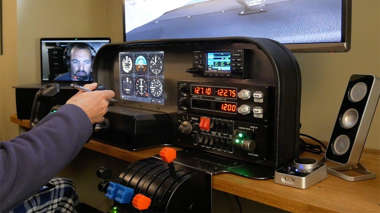 Pilots building Home Flight Simulator Setup I dreamt of as a kid +