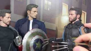 wolverine wants to join the avengers! x-men days of future past hot toys parody