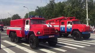 Парад техники МЧС 2018 Минск