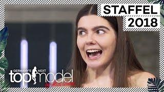Klaudia mit K zieht beim Casting alle Blicke auf sich | GNTM 2018 | ProSieben
