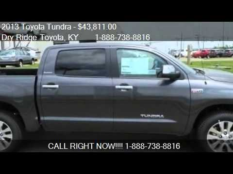 2013 Toyota Tundra Platinum - for sale in Dry Ridge, KY 4103