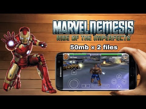 Download - (50mb) Marvels Avengers PPSSPP game in android by