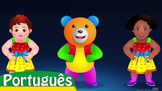 Vamos aprender as cores | Canções Infantis em Português | ChuChu TV