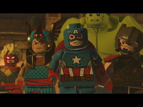 LEGO Marvel Superheroes 2 Walkthrough Part 17 - I Sphinx We Have A Problem
