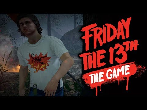FRIDAY THE 13th - SPRING BREAK 1984 CLOTHING PACK DLC  - VIERNES 13 GAMEPLAY ESPAÑOL