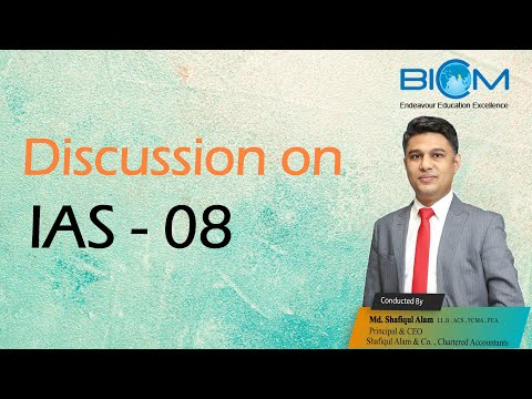 Discussion On IAS - 8
