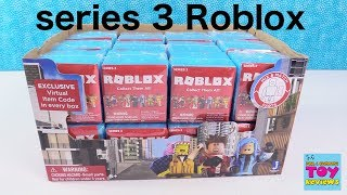 Roblox Toys Game Figures Series 3 Full Box Opening Toy Review | PSToyReviews