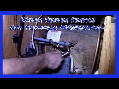 v-44-how-to-service-rv-water-heater-&-a-modification-diy