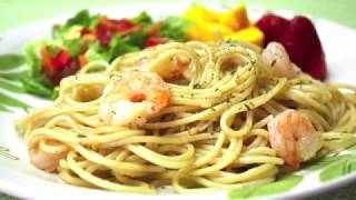 Spaghetti with Shrimp and Garlic | How to Make it (Must Watch)
