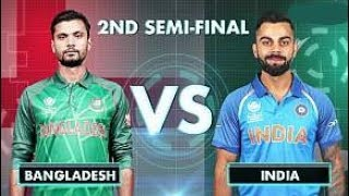 Bangladesh vs India - Live Cricket Score, Commentary | ICC Champions Trophy, 2017