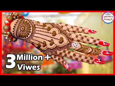 Beautiful Latest Mehndi Designs  Bridal Henna   Henna Tutorial by Jyoti Sachdeva.