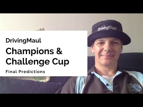 European Rugby Champions & Challenge Cup 2016-2017 Final Predictions