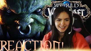 """World of Warcraft """"Old Soldier"""" cinematic reaction!"""