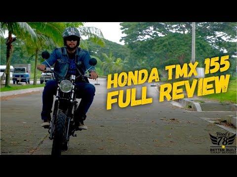 Honda TMX155 Scrambler Full Review: Custom Build PHILIPPINES