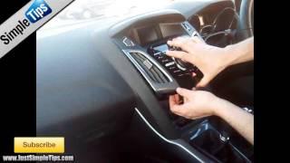 Radio Removal Ford Focus MK3 (2011 - Present)   JustAudioTips