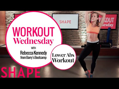 Lower Abs Workout | Workout Wednesday | Shape