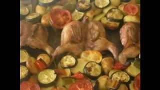 Куропатка гриль с картошкой фото-видео рецепт
