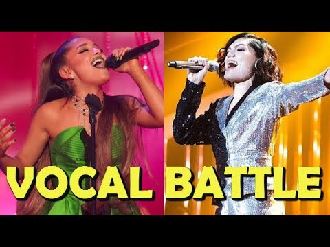 Ariana Grande VS Jessie J Live VOCAL BATTLE!!