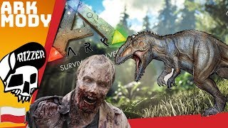Hordy Zombie Atakują - Ark Survival Evolved PL | Rizzer gameplay po polsku