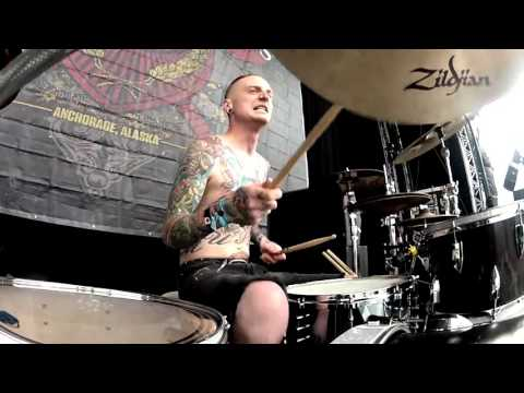 Kyle Baltus - 36 Crazyfists - At the End Of August JC Drums Drum Cam Download 2015