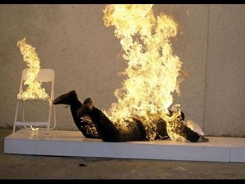 Как происходит самовозгорание