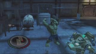 The Incredible Hulk: (2008) PS3 Walkthrough #1