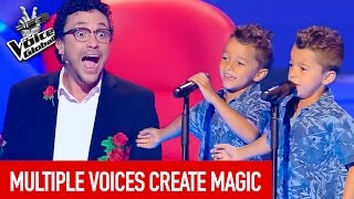 The Voice Global | MAGICAL VOICES in The Blind Auditions thumbnail