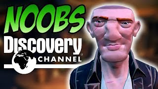 NOOBS THE DOCUMENTARY // SEA OF THIEVES - How to deal with noobs #BeMorePirate
