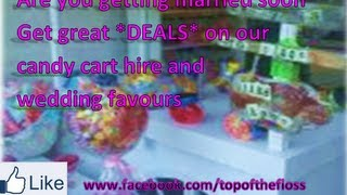 top of the floss candy cart hire | Dean Jenkins